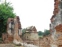 Wat Mahathat, Ayutthaya,泰国 免版税库存照片