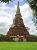 Wat Mahathat, Ayutthaya,泰国 库存照片