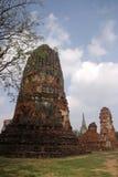 Wat Mahathat à Ayutthaya Photo stock