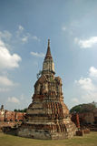 Wat Mahathat à Ayutthaya Photo libre de droits
