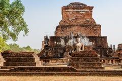 Wat Mahathat и окрестности, парк Sukhothai исторический, Таиланд Стоковые Изображения RF