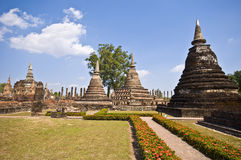Wat Mahathat Royalty Free Stock Images