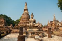 Wat Mahathat stockfoto
