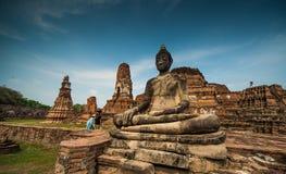Wat Mahathat Foto de Stock Royalty Free