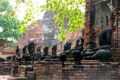 Wat Mahathat stockfotografie