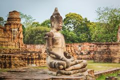 Free Wat Mahathat. Royalty Free Stock Photo - 52824605