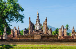 Wat Mahathat Royaltyfria Foton