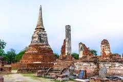 Wat Mahathat 免版税库存图片