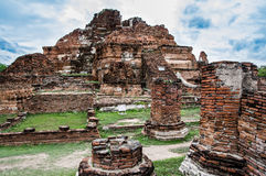 Wat Mahathat. Royalty Free Stock Images