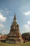 Wat Mahathat in Ayutthaya Lizenzfreies Stockfoto