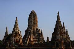Wat Mahathat Ayutthaya Zdjęcia Royalty Free