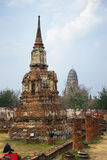 Wat Mahathat. Ayutthaya historical park. Thailand Stock Photo