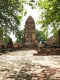 Wat Mahathat, Ayutthaya, Tailandia Imágenes de archivo libres de regalías