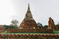 Wat Mahathat, Ayutthaya, Tajlandia Obraz Royalty Free
