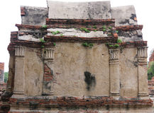 Wat Mahathat, Ayutthaya, Thaïlande Photos libres de droits