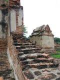 Wat Mahathat, Ayutthaya, Thaïlande Images libres de droits