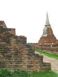 Wat Mahathat, Ayutthaya, Thailand Arkivfoton