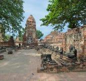 Wat Mahathat, Ayutthaya, Thailand Royalty Free Stock Image