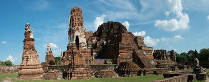 Wat Mahathat, Ayutthaya Thailand Travel Royalty Free Stock Photography