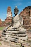 Wat Mahathat, Ayutthaya Thailand Travel Stock Photo