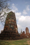 Wat Mahathat em Ayutthaya Foto de Stock