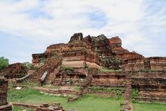 Wat Mahathat en Ayutthaya imagenes de archivo