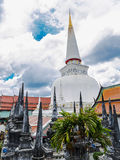 Wat Mahathat Nakhon Si Thummarat province Royalty Free Stock Image