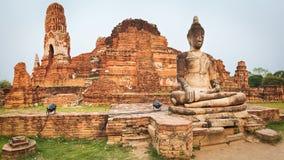 Wat Mahathat. Panorama Royalty Free Stock Photo