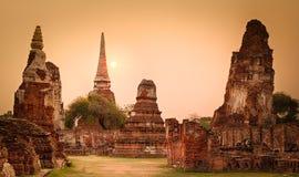 Wat Mahathat. Panorama Stock Photography