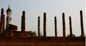 Wat Mahathat Parque histórico Sukhothai tailândia Foto de Stock Royalty Free