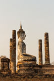 Wat Mahathat, Sukhothai, Таиланд Стоковая Фотография
