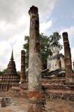 Wat mahathat sukhothai. A very beautiful place stock image