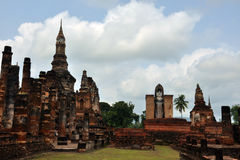 Wat mahathat sukhothai. A very beautiful place Royalty Free Stock Photos
