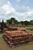 Wat mahathat sukhothai. A very beautiful place royalty free stock photo