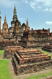 Wat mahathat sukhothai Royalty Free Stock Images