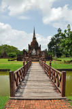Wat mahathat sukhothai Stock Image