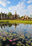 Wat Mahathat in Sukhothai Royalty Free Stock Photography