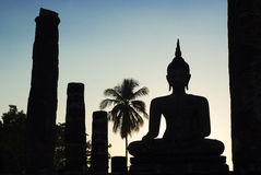 Wat Mahathat, Sukhothai Historical Park - Thai tem Stock Photos