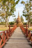 Wat Mahathat Royalty Free Stock Photography