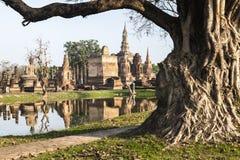 Wat Mahathat in Sukhothai Royalty Free Stock Images