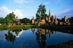 Wat Mahathat, Sukhothai, Tailândia, Fotografia de Stock Royalty Free