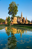 Wat Mahathat, Sukhothai, Tailândia, Imagens de Stock