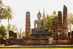 Wat Mahathat, Sukhothai, Thailand, Stock Photography