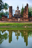 Wat Mahathat, Sukhothai, Thailand, Royalty Free Stock Photo