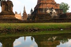 Wat Mahathat, Sukhothai, Thailand, Royalty Free Stock Images