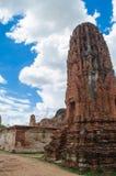 Wat Mahathat-tempel Royalty-vrije Stock Foto's