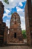 Wat Mahathat-tempel Stock Afbeeldingen