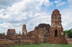 Wat Mahathat-tempel Royalty-vrije Stock Foto