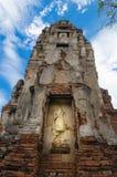 Wat Mahathat-tempel Stock Fotografie