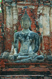 Wat Mahathat (tempel av den stora reliken eller tempel av den stora relikskrin) är det gemensamma korta namnet av flera viktig bu Arkivbild